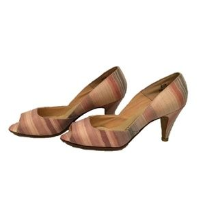 Naturalizer Shoes - Naturalizer Pastel Striped Peep-toed shoes